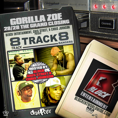 &quot;8 Track&quot; Mixtape by Gorilla Zoe
