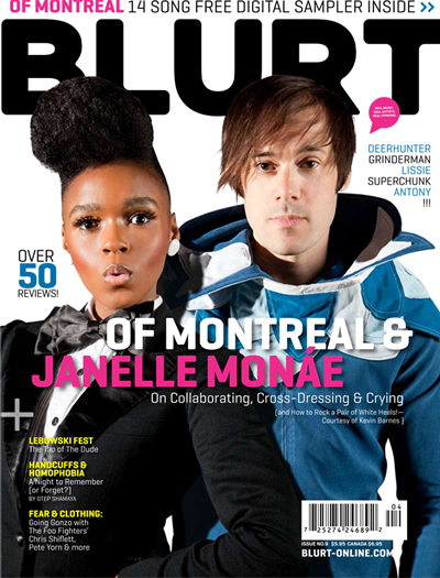 Janelle Monae and of Montreal&#039;s Kevin Barnes Cover Blurt Magazine