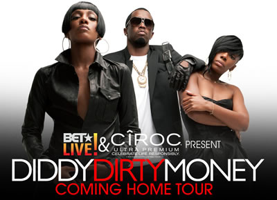 "Diddy/Dirty Money's ""The Coming Home Tour"""