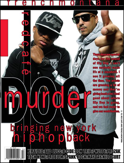 Red Cafe and French Montana Featured on the Cover of Murderdog Magazine