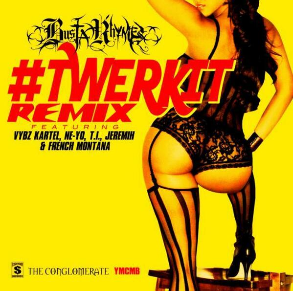 """Twerk It (Remix)"" by Busta Rhymes featuring Vybz Kartel, Ne-Yo, T.I., Jeremih and French Montana"